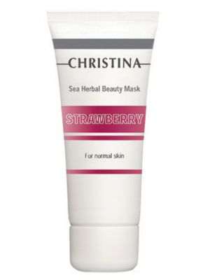 Schönheitsmaske für normale Haut - Sea Herbal Beauty Mask Strawberry