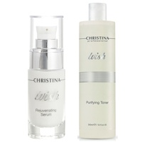 Rejuvenating Serum + Purifying Toner